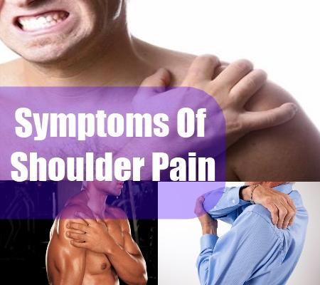 Know About Some Shoulder Pain Symptoms