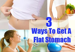 Ways To Get A Flat Stomach