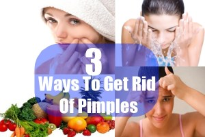Ways To Get Rid Of Pimples
