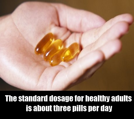 Eat three pills a day