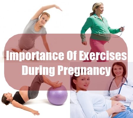Importance Of Exercises During Pregnancy
