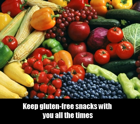 Keep gluten-free snacks