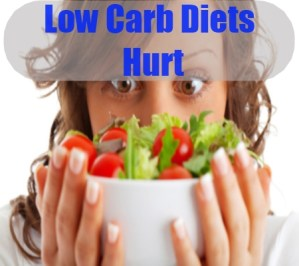 Low Carb Diets Hurt