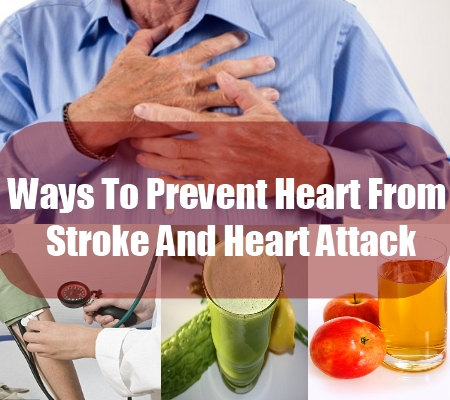 Ways To Prevent Heart From Stroke And Heart Attack