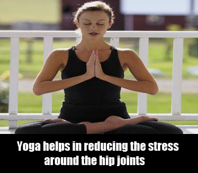 Benefits of yoga in hip pain