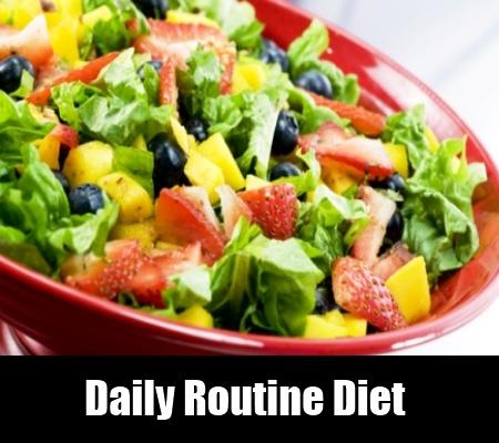 Daily Routine Diet