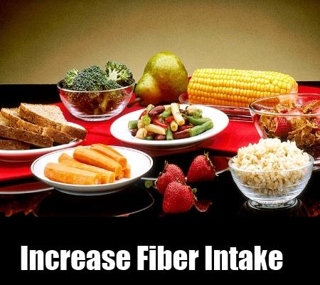 Increase Fiber Intake