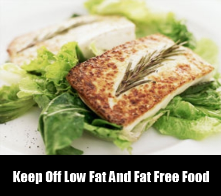 Keep Off Low Fat And Fat Free Food