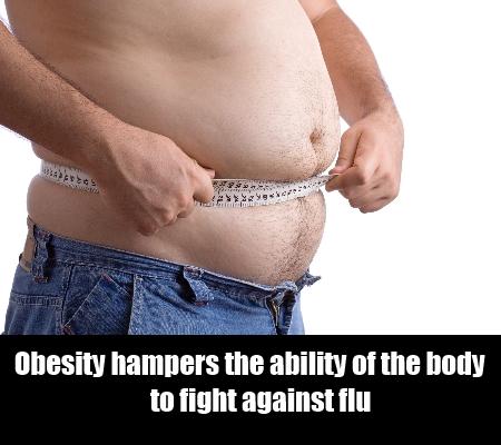 Obesity Reduces Immune Power