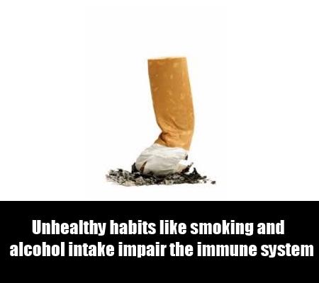 Unhealthy Habits, Food Allergies And Self Medication
