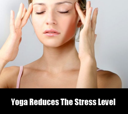 Yoga Reduces The Stress