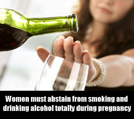Abstinence from tobacco, caffeine and alcohol