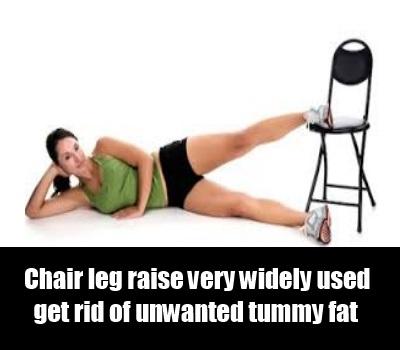 Chair Leg Raise