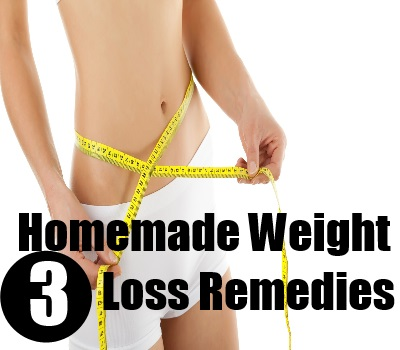 Homemade Weight Loss Remedies