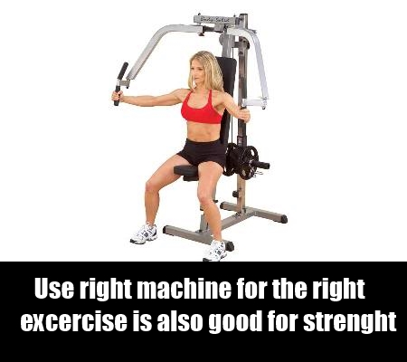 Strength Training With Weight Machines