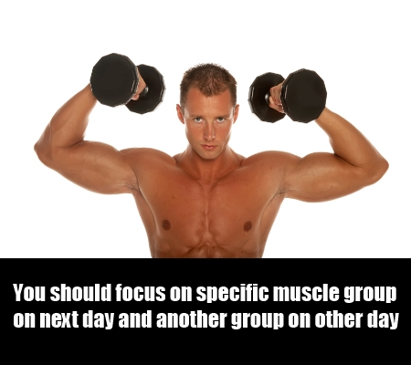 Focus On Specific Group Of Muscles