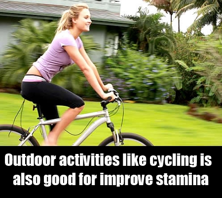 Indulge In Outdoor Activities In a healthy Environment