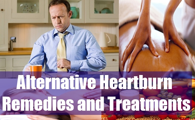 Alternative Heartburn Remedies and Treatments