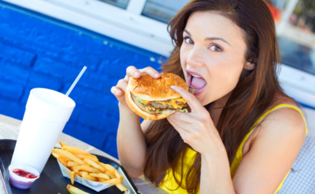 Eating fatty foods