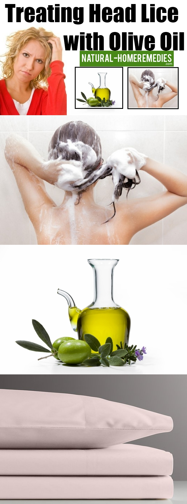 Treating Head Lice with Olive Oil