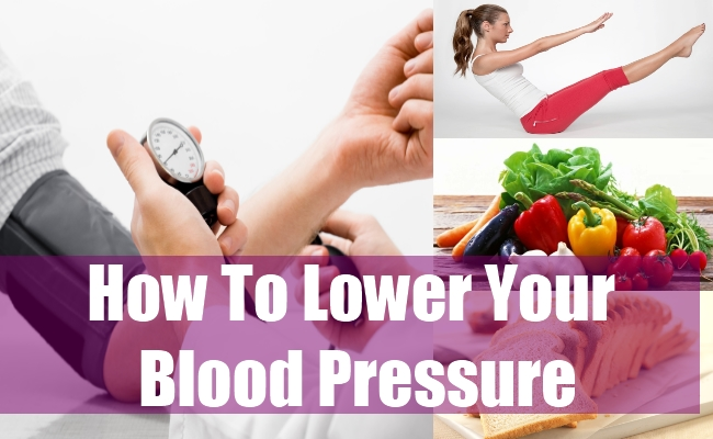 How To Lower Your Blood Pressure