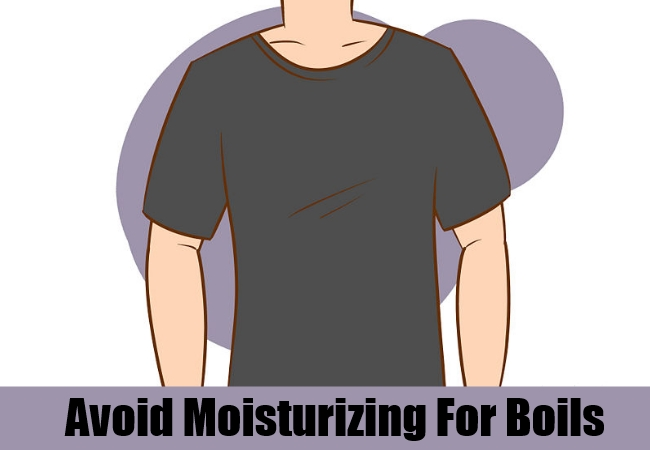avoid moisturizing