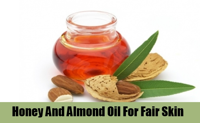 Honey And Almond Oil