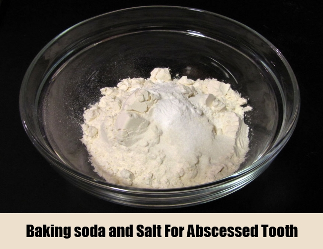 Baking soda and Salt