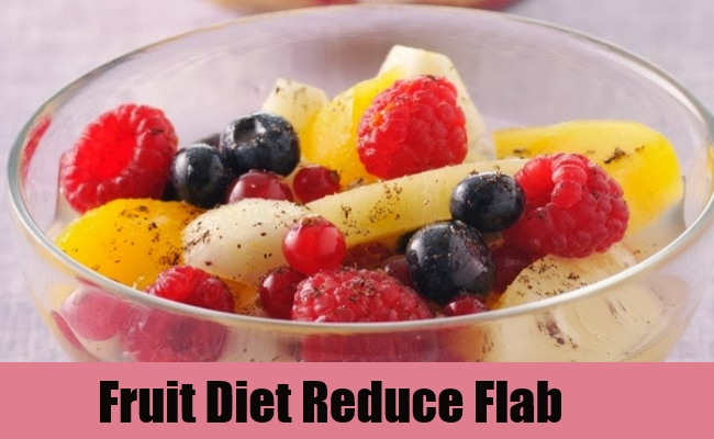 Fruit Diet Reduce Flab
