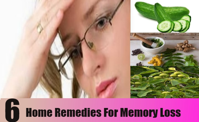 Home Remedies For Memory Loss