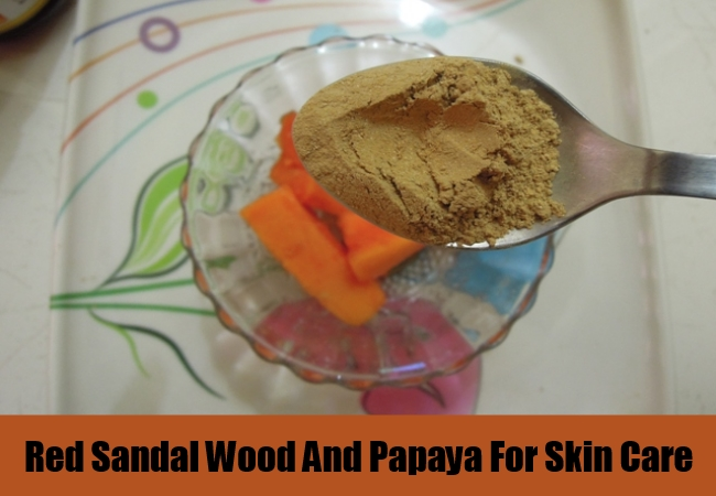 Red Sandal Wood And Papaya