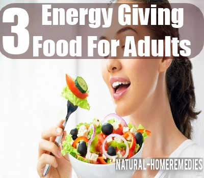 energy foods for adults