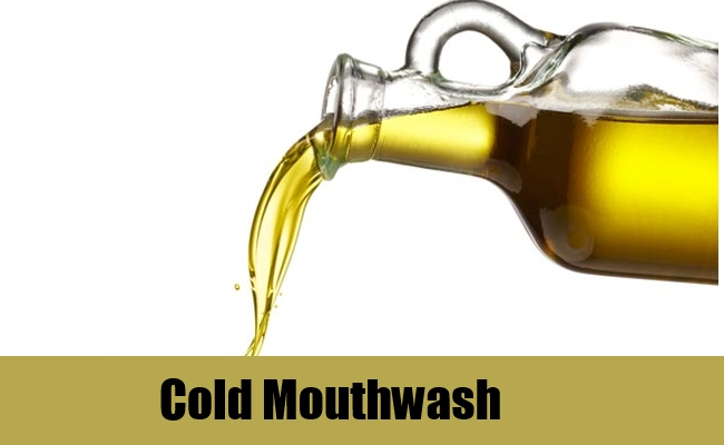 Cold Mouthwash