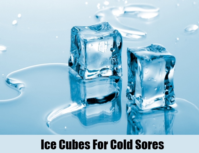 Ice Cubes For Cold Sores
