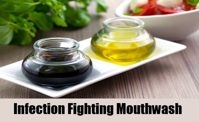 Infection-Fighting Mouthwash