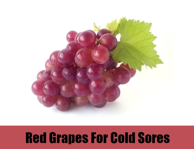 Red Grapes For Cold Sores