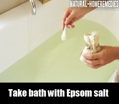 epsom salt bath