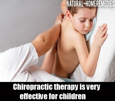 chiropractic Therapy On Children