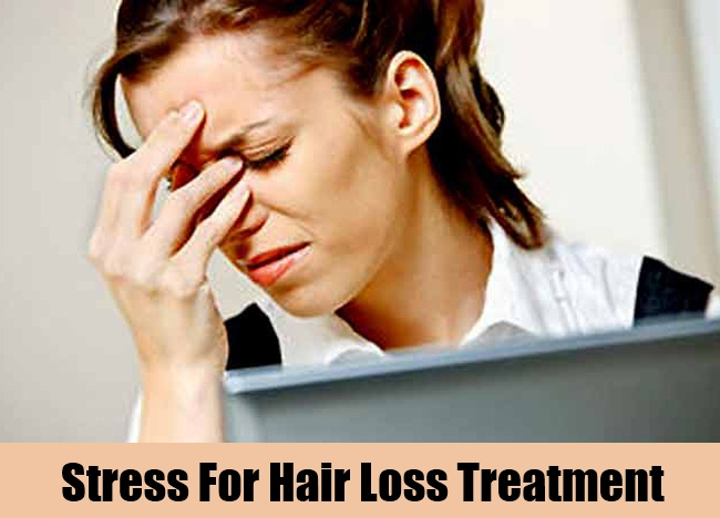 Stress For Hair Loss Treatment
