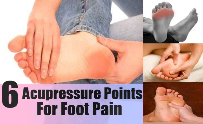 6 Ways To Use Acupressure Points For Foot Pain - Natural ...