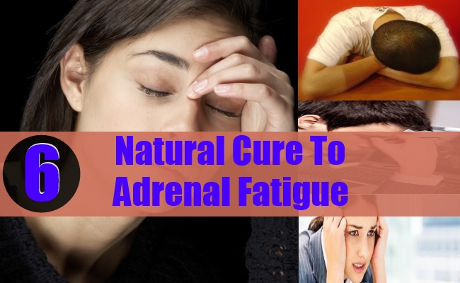 Natural Cure To Adrenal Fatigue