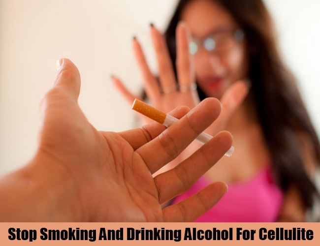 Stop Smoking And Consumption Of Alcohol