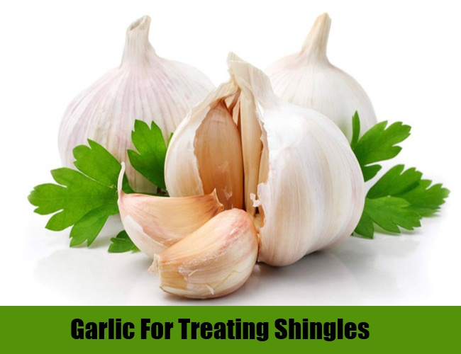 Garlic For Treating Shingles