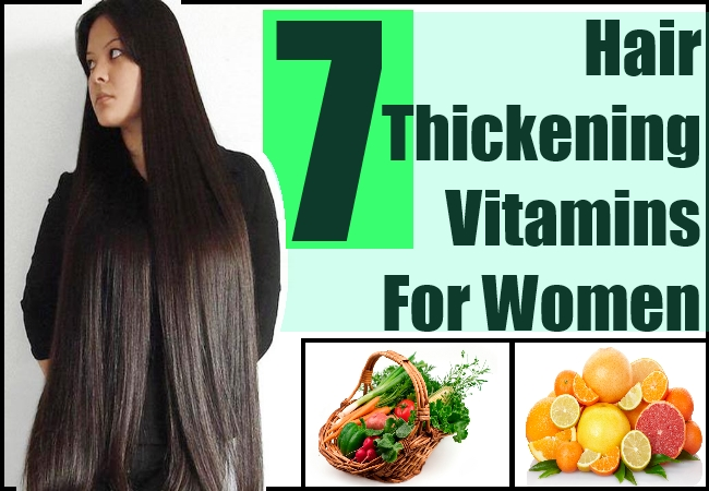 Hair Thickening Vitamins