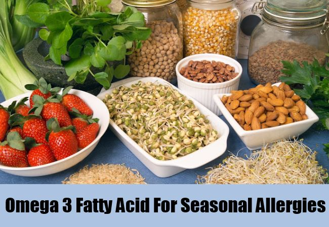 Omega 3 Fatty Acid For Seasonal Allergies
