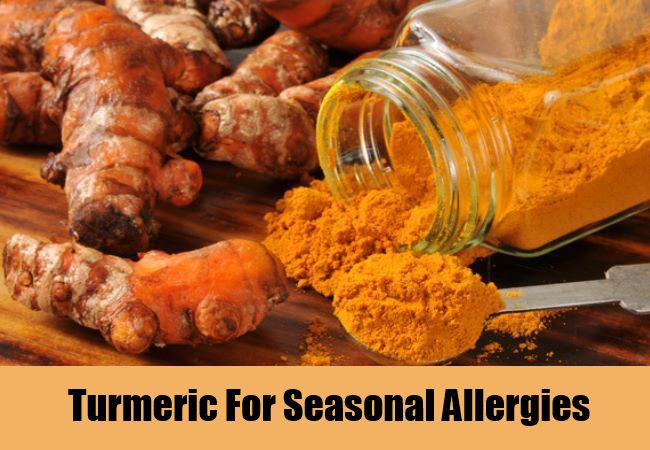 Turmeric For Seasonal Allergies