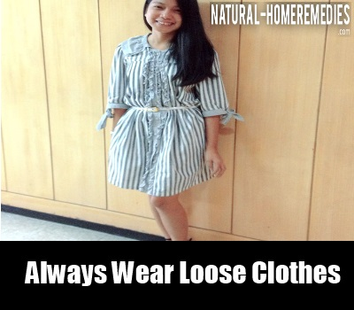 loose clothes