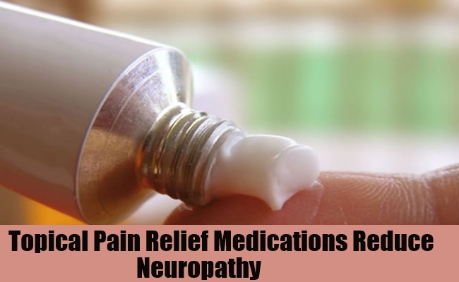 Topical Pain Relief Medications