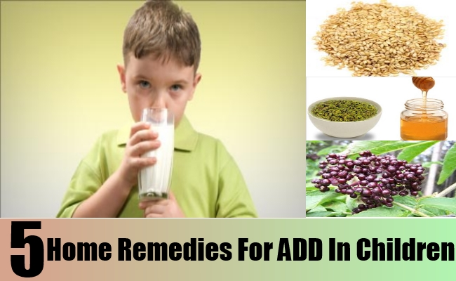 Home Remedies For ADD In Children