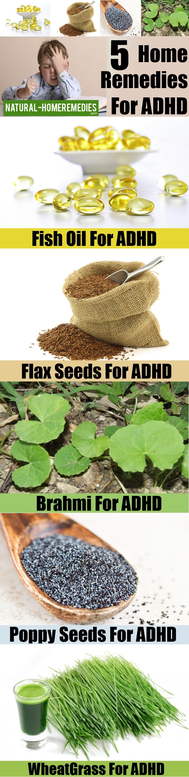 5 Home Remedies For ADHD